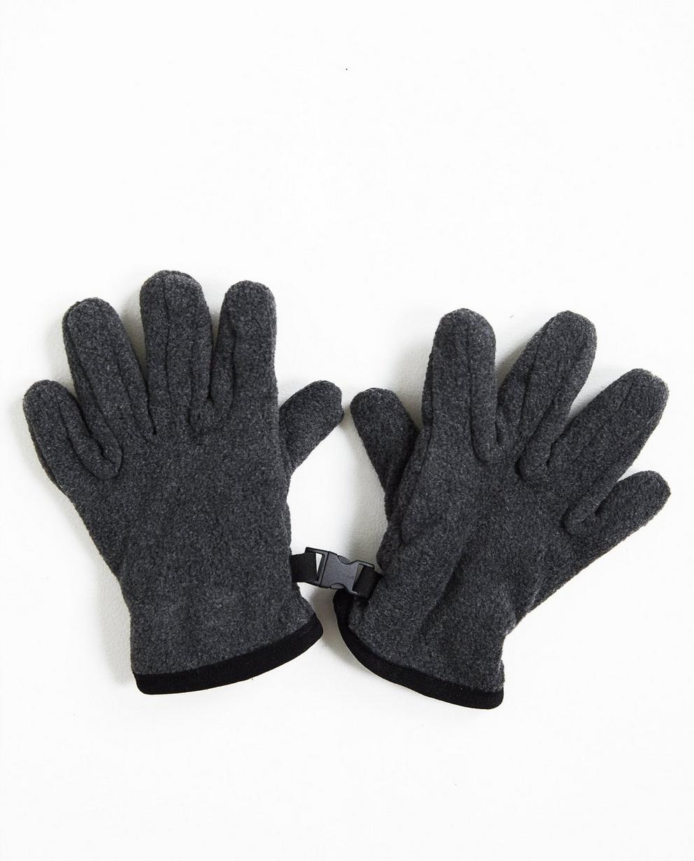 Gants en fleece - gris - JBC